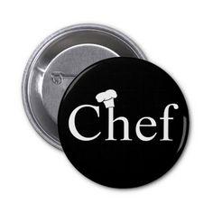 Botão do cozinheiro chefe botons