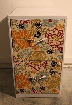 Craft Room Secrets: How to transform an old filing cabinet.