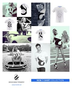 We believe Typography can go beyond the image and become a source of inspiration. This is why we've designed a new T-shirt collection to ignite your creativity. Wear it and show us what you've got. Find the collection and so much more at www.moshik.net  #typography #tshirt #fashion #ampersand #cool #moshik #new #york #fonts #fonts #typeface #paris #lingerie #pro #design #tshirs #behace