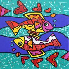 Romero Britto #Pisces