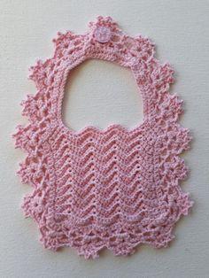 Crochet Baby Bib Free Pattern - Crochet Creations