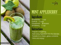 #1.Beginners Green Delicious blend of antioxidants and anti-inflammatory goodness in every drop. Read Also:What Is A Good Diet For Someone With Rheumatoid Arthritis? #2.Mint Appleberry Not only is this drink the perfect thing for an afternoon in the sun, the antioxidant power of blueberries combines with Anthocyanidin, a flavonoid in