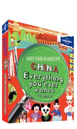 Not For Parents: China. << This is not a guidebook. And it is definitely Not-for-parents. It is the real, inside story about one of the world's most exciting countries - China. In this book you'll hear fascinating tales about ancient empires, martial arts, the discovery of gunpowder and the first cup of tea. Check out cool stories about ice sculptures, dust storms, bloodthirsty warriors and dragons. You'll find acrobats, fighting crickets, futuristic buildings and some seriously weird…