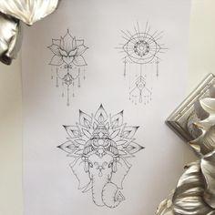 #sketch #tattoo свободные эскизы, запись до 8го мая