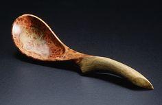 Norm Sartorius - Yale University Art Gallery - Amboyna Burl Spoon