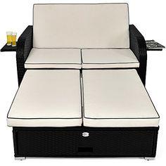 Garden Furniture With Storage woodside wyoming rattan 8 seat garden patio furniture dining cube
