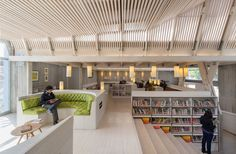 A public library in the city in Constitución, Chile #libraries