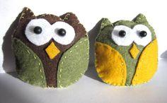 Felt Owl Tutorial | My Girlish Whims