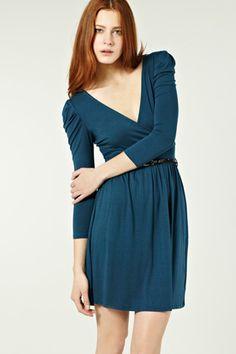 V Front V Back Dress - Warehouse, £35.00