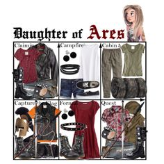 Daughter of Ares ~ Wardrobe by liesle