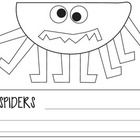 Perfect craft for Halloween or learning about spiders.  File features the craft on one page so you can use as a handout, if you do not have time to...