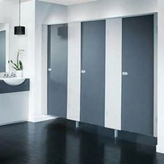 Commercial Bathroom Partition Walls Model the most popular material choices for stall dividers for