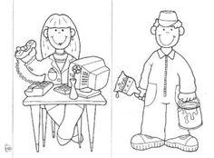 Desenhos Para Colorir-Dia do Trabalho - O Mundo Das Crianças