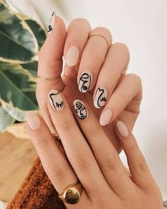 Try some of these designs and give your nails a quick makeover, gallery of unique nail art designs for any season. The best images and creative ideas for your nails. Nail Art Designs, Colorful Nail Designs, Nails Design, Colorful Nail Art, Fun Nails, Pretty Nails, Pretty Makeup, January Nail Colors, Picasso Nails