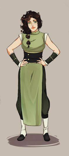 LOK: Earthbender OC by YukiHyo.deviantart.com on @deviantART