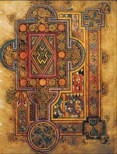 Book of Kells, detail