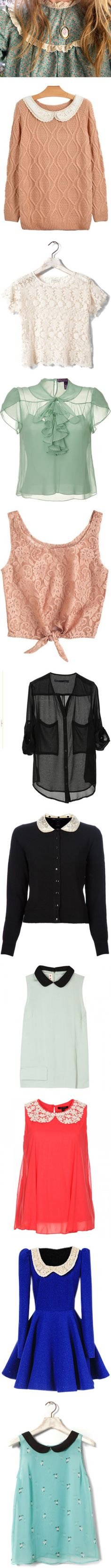 """""""♡Such Lovely Shirts ❤"""" by daisyrosvick ❤ liked on Polyvore"""