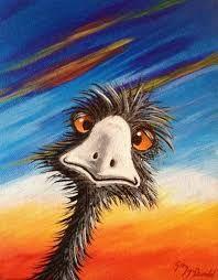 emu paintings - Google Search