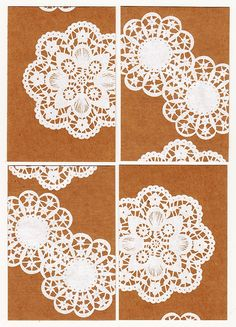 more doily card inspiration