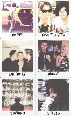 happy belated birthday Harry