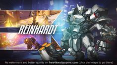 Reinhardt Overwatch HD wallpaper - Download Reinhardt Overwatch HD wallpaper for your desktop tablet or mobile device