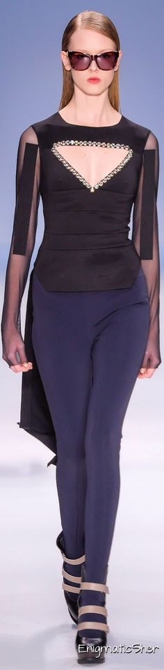 Gloria Coelho Winter 2014 Ready-to-Wear