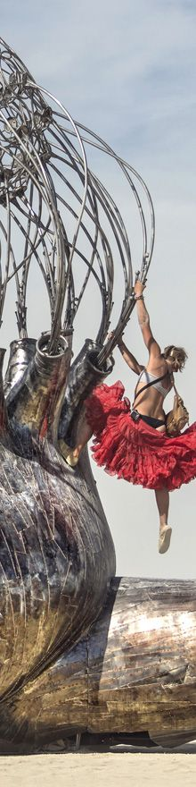 Pulse - Burning Man 2015 - Photography  by Cliff Baise