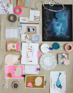 Inspiration board from Ishtar Olivera