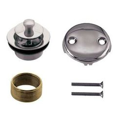 Belle Foret Universal Twist and Close Tub Waste Trim Kit in Polished Chrome-BFNTDCK1CP at The Home Depot