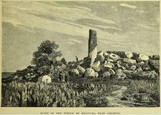 Ruins of Temple of Hercules, near Girgenti.