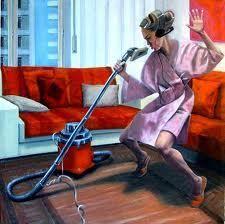 quando le pulizie sono rock...!