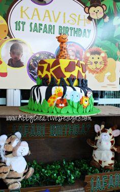 Jungle & Safari Birthday Theme | Abby Creative Designs by Abby Sue