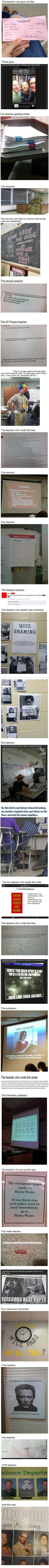 Epic Teachers troll student. The Justin Beiber one got me XD