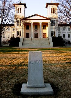 Wofford College in South Carolina