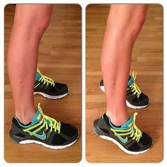 No time to go to the gym but still want your legs to look sexy in heels? No worries! Add this Quick & Easy at home exercise   NutritionTwins.com