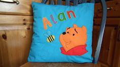 Winnie the Pooh pillow by Fancy EM