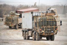 MAN , Enhanced Palletised Load System -  Afghanistan