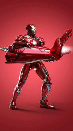 Iron Man Fire Blaster - IPhone Wallpapers