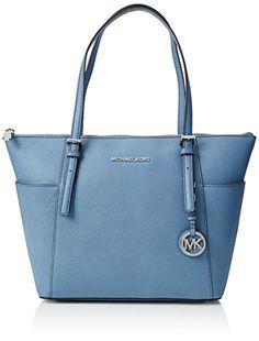 bc5f7a6f7274 Michael Kors Womens Jet Set Top-zip Medium Tote Beige (Cement)   Amazon.co.uk  Shoes   Bags