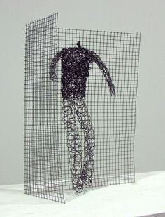 wire sculpture by Barbara Licha