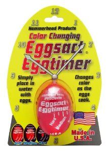 HIC Harold Import Eggsact Egg Timer by HIC Porcelain. $5.64. Soft , medium or hard. Perfect eggs, every time. Simply place timer in water with eggs. Easy to read scale. Hard boiling eggs are easy. Knowing when they are cooked to a desired hardness is not. Until now. With the eggs act egg timer you'll know, every time, where your eggs are, in the cooking process. Simply add the eggs act egg timer in with your eggs and boil as you normally would. There is an easy to rea...