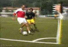 Nice soccer trick