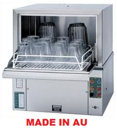 commercial eswood ci 3b under bar glasswasher glasswasher kitchen catering equipment - Bar Glass Washer