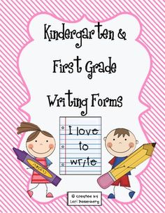 Kindergartners and First Graders love to write! Friends' names, word wall words, color words, number words, shopping lists, sentences. You name it, they'll write it! This packet contains 8 different writing activities for your students to practice during station time.