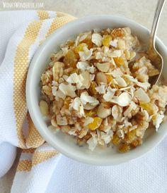 Maple Brown Rice Breakfast Bowl