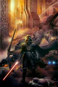 Darth Vader /by ?? #StarWars #art
