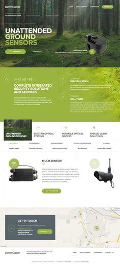 DefenGuard (More web design inspiration at topdesigninspiration.com) #design…