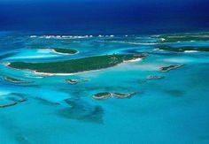 Fowl Cay Island, Bahamas
