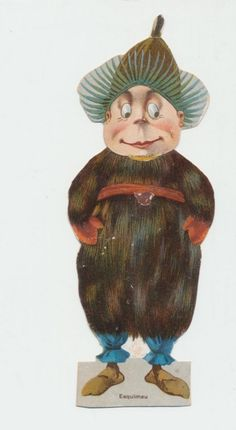 Palmer Cox Brownie Lion Coffee Paper Doll Esquimau   eBay