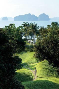 Phulay Bay A-Ritz Carlton Reserve | Krabi, Thailand | P landscape #hotel #landscape #thailand #krai #ritzcarlton #water